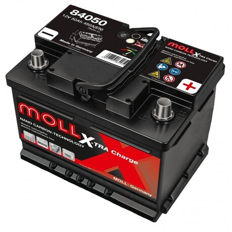 MOLL X-TRA CHARGE POWER 50AH 420A R+