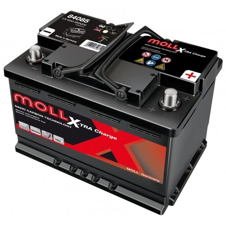 MOLL X-TRA CHARGE POWER 85AH 710A R+